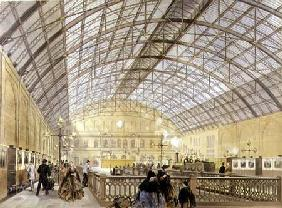 Charing Cross Station, engraved by the Kell Brother