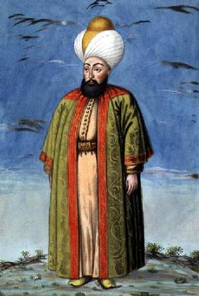 Mahomet (Mehmed) I (1387-1421), Sultan 1413-21, from 'A Series of Portraits of the Emperors of Turke 1808