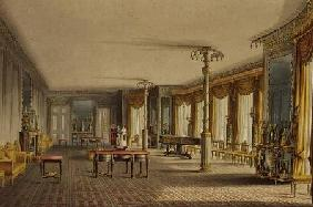 The North Drawing Room, or Music Room Gallery from 'Views of The Royal Pavilion 1826