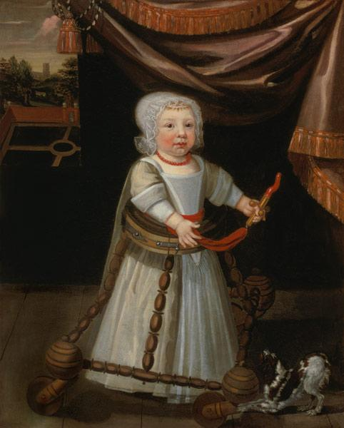 Portrait of a Boy with a Coral Rattle c.1650-60