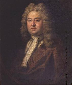 Portrait of a Gentleman (said to be George Frederick Handel) c.1730
