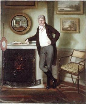 Portrait of George Henckell in his Study c.1800