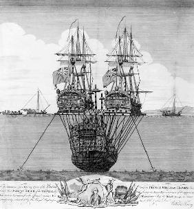 The Attempt made to Salvage the HMS Royal George, c.1783