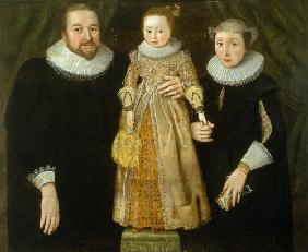 Portrait of a family 1627