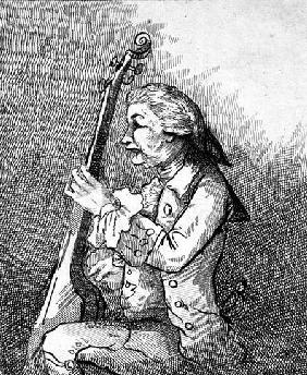 A Solo on the Viola da Gamba 1787