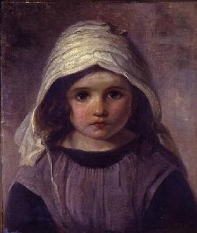 Study of a Girl in a Bonnet 1890