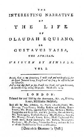 an examination of the interesting narrative of the life of olaudah equiano or gustavus vassa the afr The interesting narrative of the life of olaudah equiano, or gustavus vassa, the african vol 1 is written by olaudah equiano this narrative takes place during a long stretch of time.