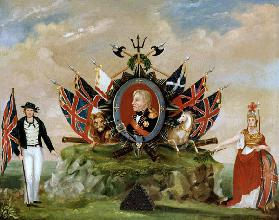 A Tribute to Nelson (1758-1805) c.1820
