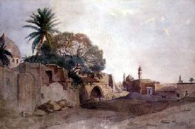 View in the Middle East c.1820  on
