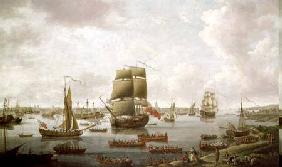 View of the Thames 1761