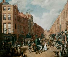 Upper Lisson Street near Paddington 1837