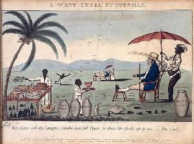A West India Sportsman, published by William Holland, 1807 (etching, engraving and aquatint) 19th