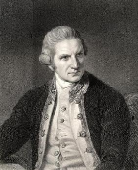 James Cook from 'The Gallery of Portraits'