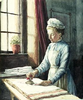 Laundry Maid, c.1880 19th