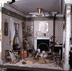 Nursery with toys from 'Miss Miles' House', 1890 (mixed media) 1793