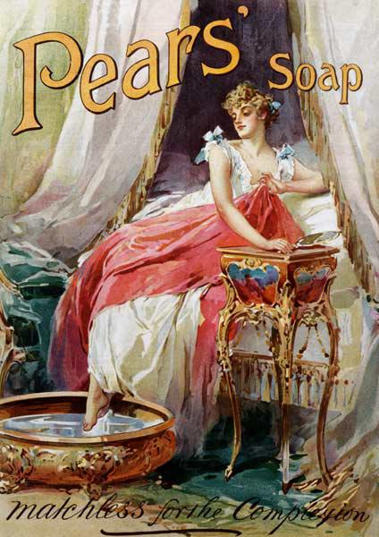 Advertisement for 'Pears' Soap' 1898