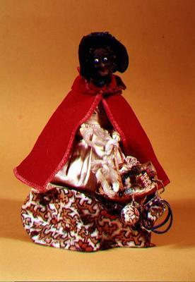 Pedlar doll, c.1860-70 (mixed media) 17th