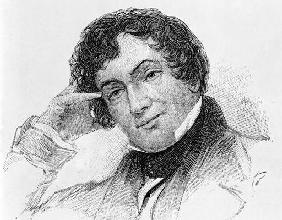 Washington Irving (1783-1859) (engraving) 18th