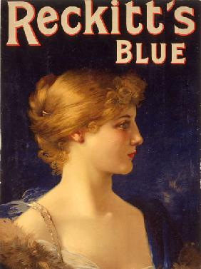 Advertisement for 'Reckitts Blue' carbolic soap c.1910