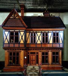 Doll's house purchased and furnished by Queen Mary, made by Ascroits of Liverpool, c.1920 (mixed med 1890