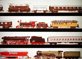 Selection of model trains 1897