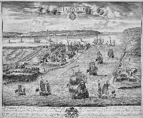 A Prospect of the Towne and Harbour of Harwich
