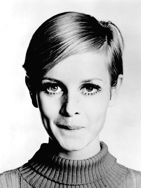The Model Twiggy in 1967