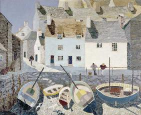 Polperro (oil on canvas)
