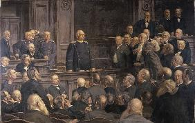 Conference of the German Reichstag on the 6th February 1888