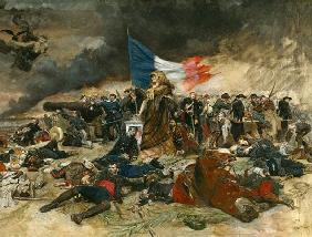 Allegory of the Siege of Paris 1870