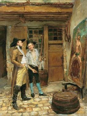 The Sign Painter 1872