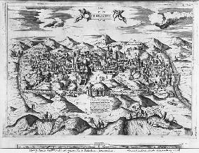 View of Jerusalem, 1570 ?