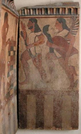 The Campana Plaque, A Winged Genie Carries Off a Woman Accompanied by an Archer c.550-525