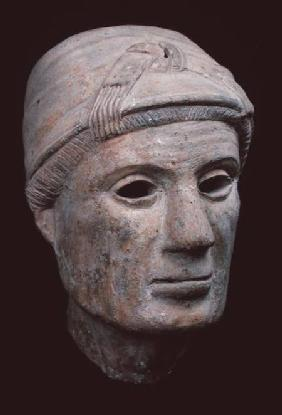 Head of an old woman, from Cerveteri
