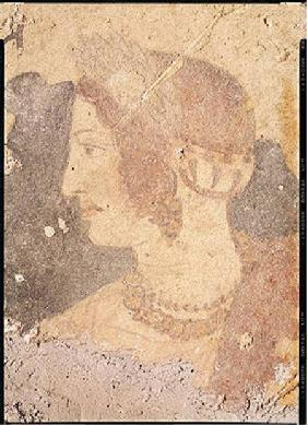 Head of a Young Woman, Velia, from the Tomb of the Orcus