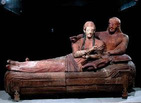Sarcophagus of a married couple 525-500 BC
