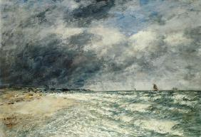 Gusty Weather over the Sea, Deauville 1895