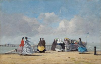 Kai in Trouville 1864