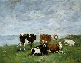 Pasture at the Seaside c.1880-85