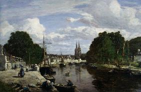 The Port at Quimper 1857