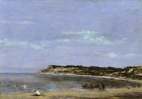 The Coast at La Heve 1856