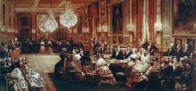 Concert in the Galerie des Guise at Chateau d'Eu, 4th September 1843 1844