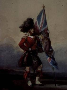 An Ensign of the 75th Highlanders