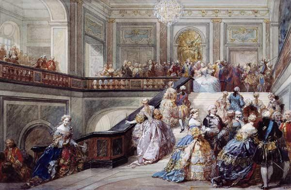 Fete at the Chateau de Versailles on the occasion of the Marriage of the Dauphin in 1745