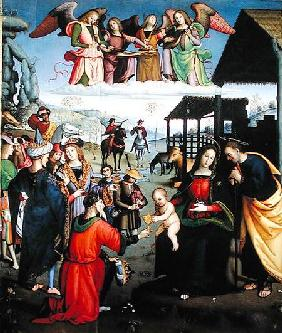 Adoration of the Magi c.1505-08