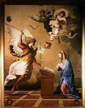 The Annunciation before 165