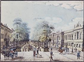 The Linden with the Academy, Berlin