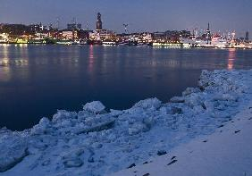 Winter in Hamburg