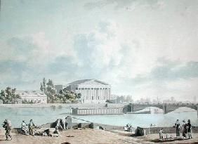 The Pont de la Concorde and the Facade of the Corps Legislatif c.1809  on