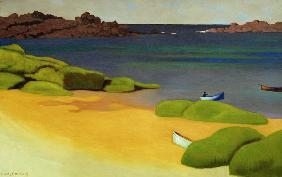 Vallotton / The bay of Tregastel / 1917